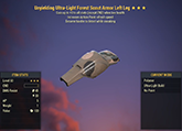Unyielding [Sneak AP] Scout Left Leg #5